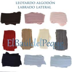 Leotardo Labrado Lateral Rosa Palo 526 de Cóndor
