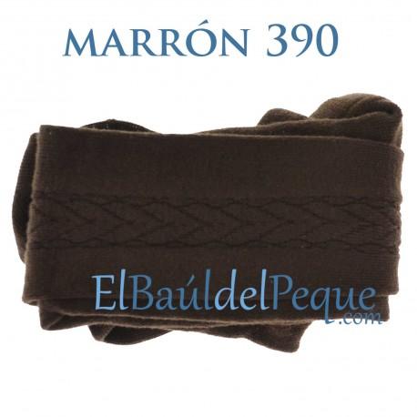 Leotardo Labrado Lateral Marrón 390 de Cóndor