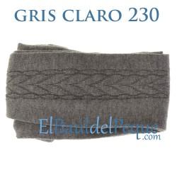 Leotardo Labrado Lateral Gris Claro 230 de Cóndor