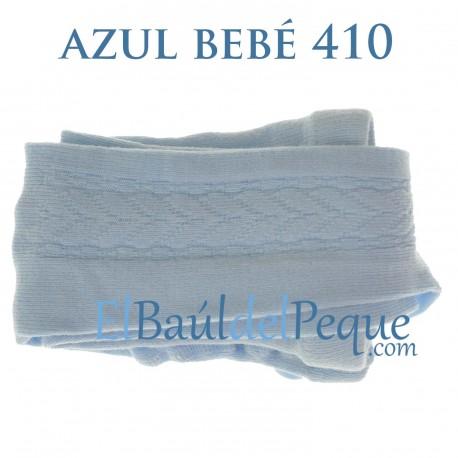 Leotardo Labrado Lateral Azul Bebé 410 de Cóndor
