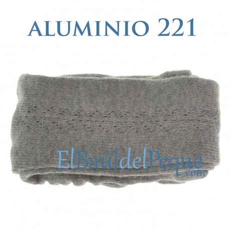 Leotardo Calado Aluminio 221 Lateral Algodón Cálido de Cóndor