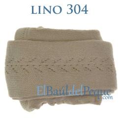 Leotardo Calado Lateral Lino 304 Algodón Cálido de Cóndor