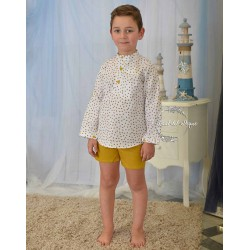 Conjunto Niño Mostaza Eve Children Bee