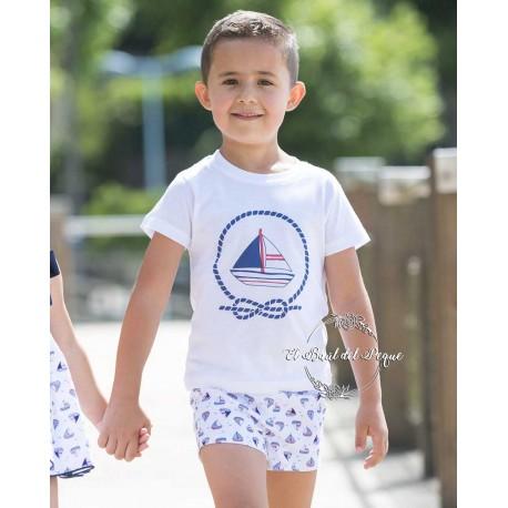 Bombacho y Camiseta Niño marané Yago Barcos