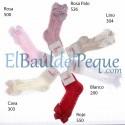 CONDOR Calcetines Lazos Altos Calados Rosa 500
